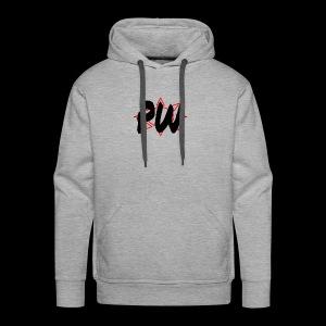 PW Bacon Red&Black - Men's Premium Hoodie