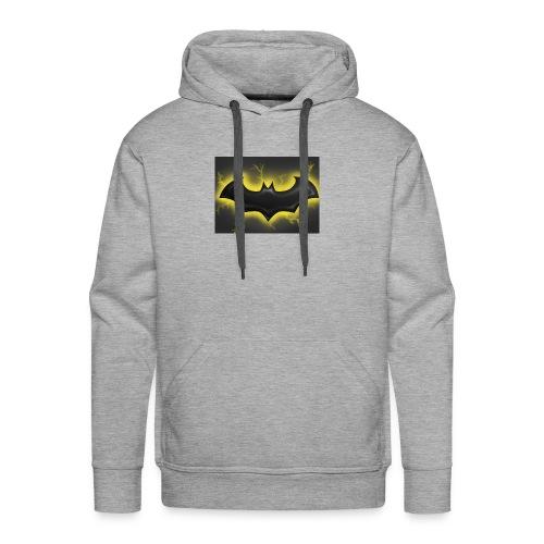 batman symbol by mushroomproductions d3d6cxs - Men's Premium Hoodie