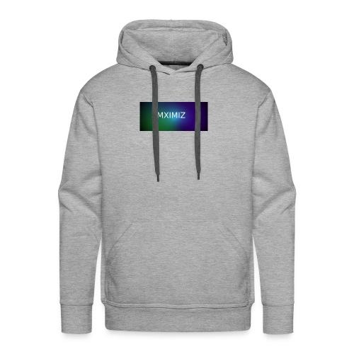 MXIMIZ youtube love - Men's Premium Hoodie