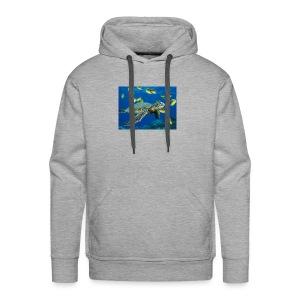Green Sea Turtle - Men's Premium Hoodie