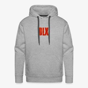 DELUXE -DLX Standard Crumble Logo - Men's Premium Hoodie