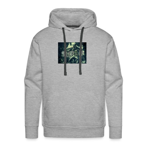 the super gaming logo 1 - Men's Premium Hoodie