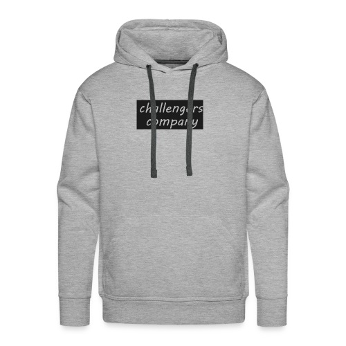 see through logo - Men's Premium Hoodie