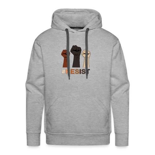 Resist / Racial Justice - Men's Premium Hoodie