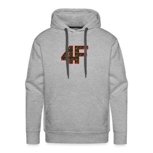4-F Camouflage - Men's Premium Hoodie