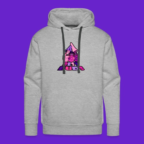 BEST BUDS PINK PURPLE - Men's Premium Hoodie