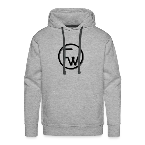 A Funny Wilson Production Black Logo - Men's Premium Hoodie
