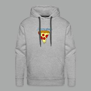 I love pizza - Molleton à capuche Premium pour homme