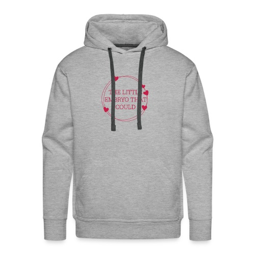 The Little Embryo That Could (IVF Baby) - Men's Premium Hoodie