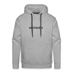 Unsocialized - Men's Premium Hoodie