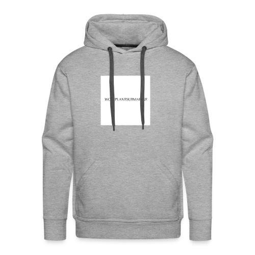 WOLFPLANESUBMARINE - Men's Premium Hoodie