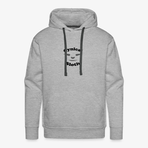 Cynical Sloth limited-edition company logo - Men's Premium Hoodie