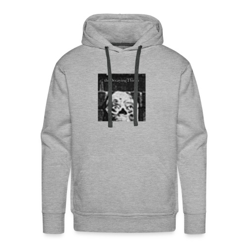 the Decaying Things _ Ghetto Goth - Men's Premium Hoodie
