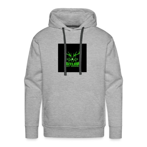 Outlaw Outdoors Logo 2 - Men's Premium Hoodie