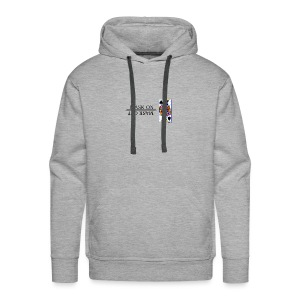 Royals; Mask On - Men's Premium Hoodie