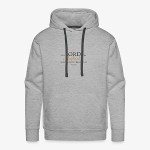 The Lord is My Shepherd - Men's Premium Hoodie