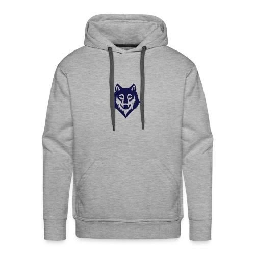 9a45729d3404bccd07a3281e8b3a12ec wolf stencil wol - Men's Premium Hoodie