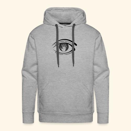 Society of Esoteric Thinkers black logo - Men's Premium Hoodie