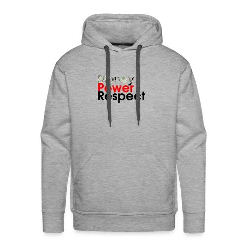 money-power-respect - Men's Premium Hoodie