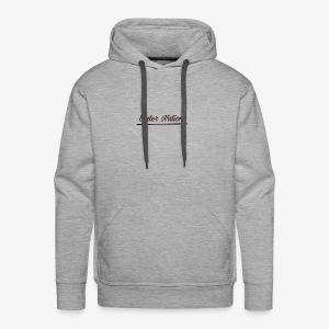 Underlined logo - Men's Premium Hoodie