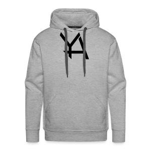 Young Adamant Black Logo - Men's Premium Hoodie