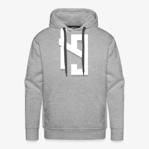 IronPrime9 Text Logo - Men's Premium Hoodie