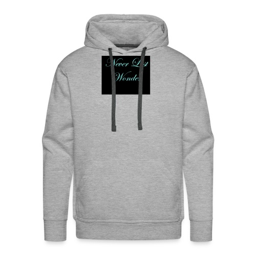 Never Lost Wonder - Men's Premium Hoodie