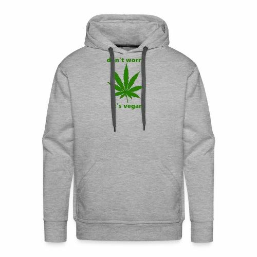 weed crap - Men's Premium Hoodie