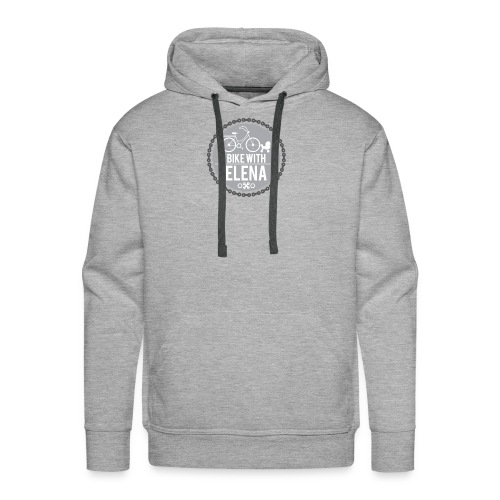 bike with elena - Men's Premium Hoodie