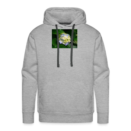 its a flower shirt - Men's Premium Hoodie