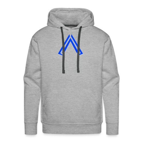 Arise Solid Blue - Men's Premium Hoodie