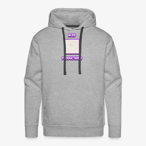 AceD Productions Purple Logo - Men's Premium Hoodie