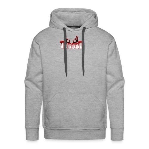 Tagout Bloody Antlers - Men's Premium Hoodie