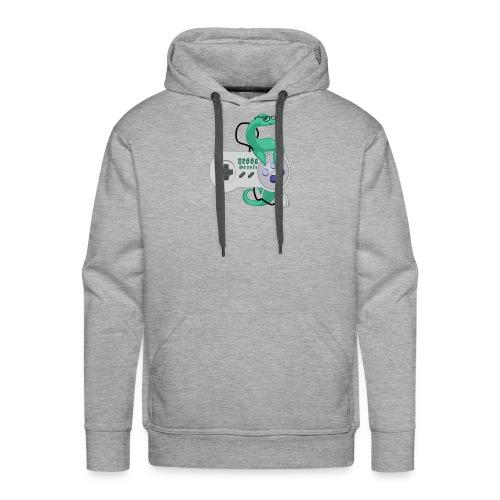 nessamonsta logo snes - Men's Premium Hoodie