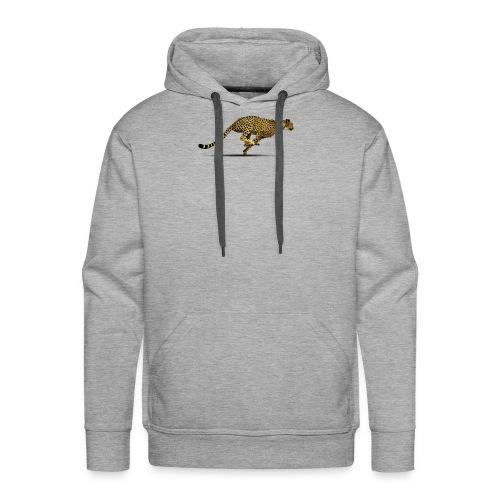 Cheetah Free PNG Image - Men's Premium Hoodie