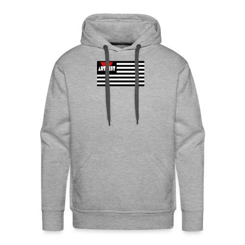 Black Flag - Men's Premium Hoodie