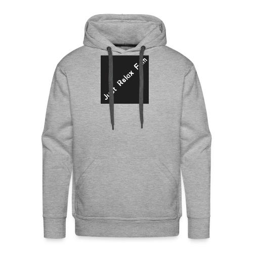 Just Relax Fam Logo - Men's Premium Hoodie