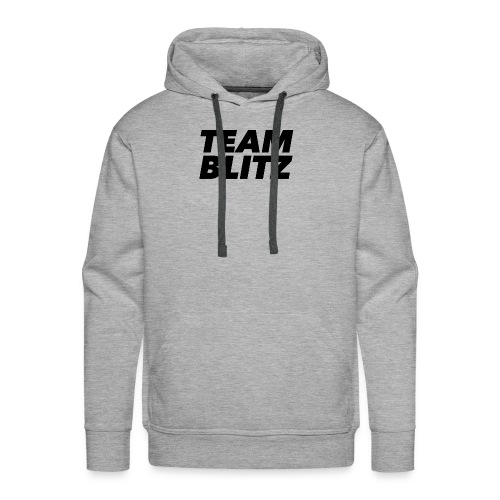 Team Blitz Logo - Men's Premium Hoodie