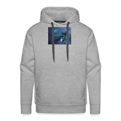 Neon blue - Men's Premium Hoodie