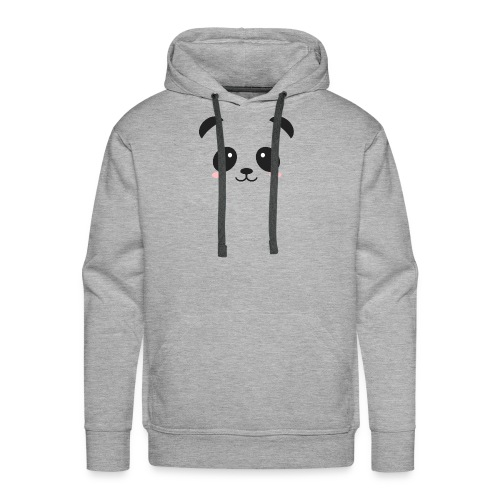 Panda Simple Face - Men's Premium Hoodie