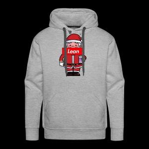 Fresh Slate Customs Santa Lean - Men's Premium Hoodie