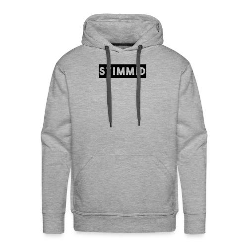 Stimmid black box logo - Men's Premium Hoodie