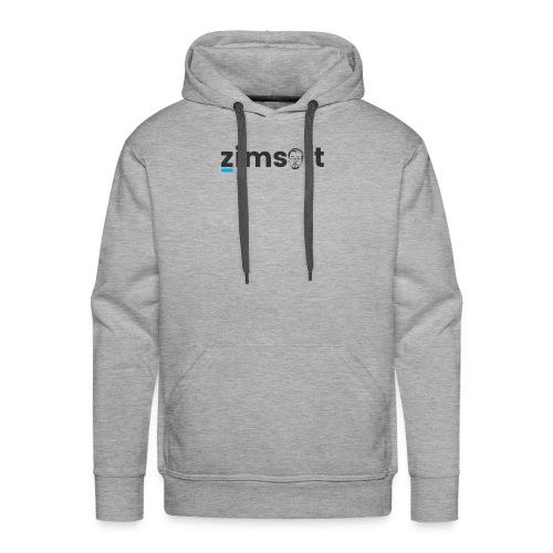 zimsoft dark cropped - Men's Premium Hoodie