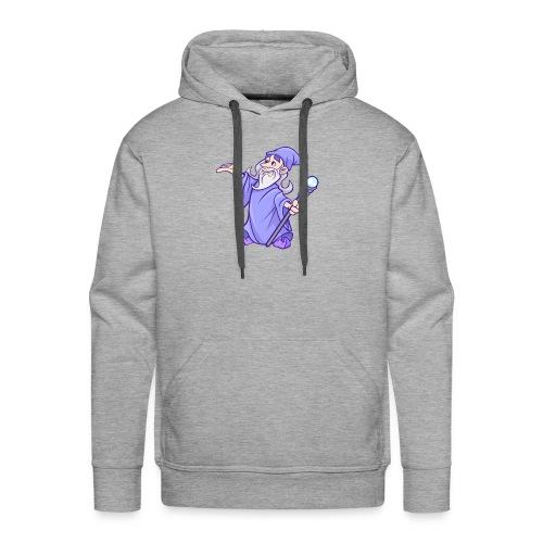 Cartoon wizard - Men's Premium Hoodie