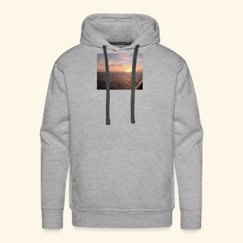 Watching the Sunset! - Men's Premium Hoodie
