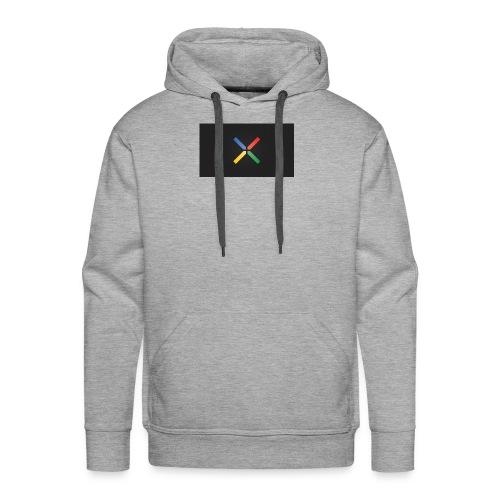 Nexus Gray - Men's Premium Hoodie