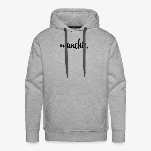Munchie - Black - Men's Premium Hoodie