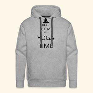 YOGA - Men's Premium Hoodie