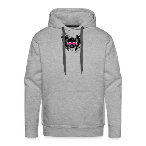 girlskull - Men's Premium Hoodie