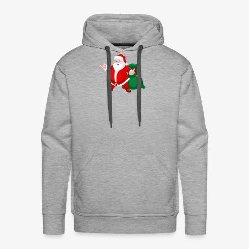 Christmas Santa - Men's Premium Hoodie